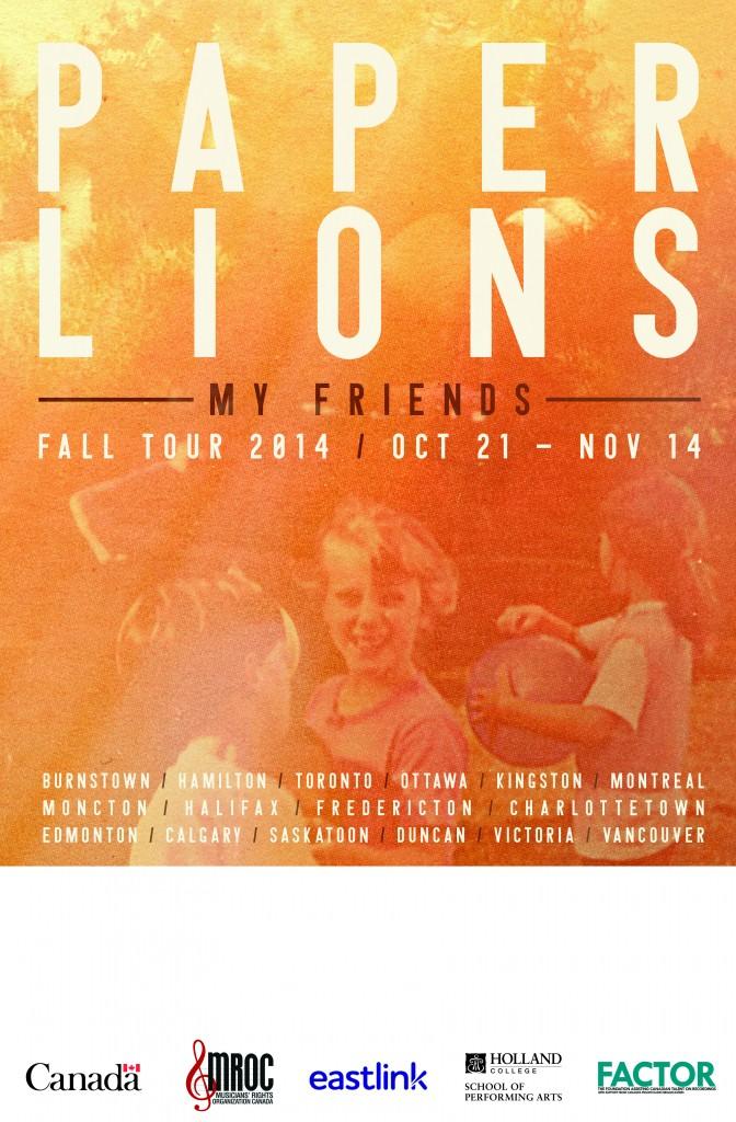 2014 Fall Tour Poster