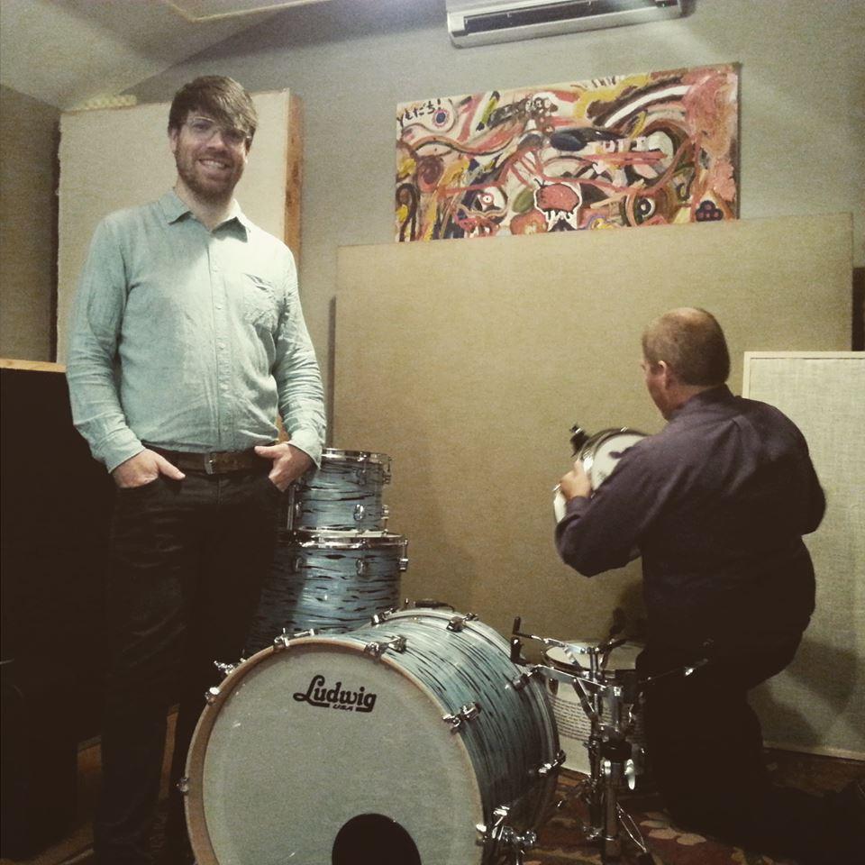 Dave drumming