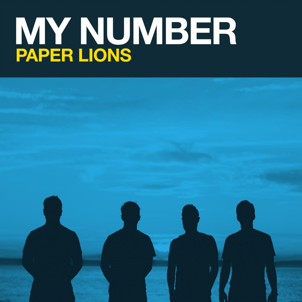 Paper Lions - My Number (Single Art by Cohen MacDonald)