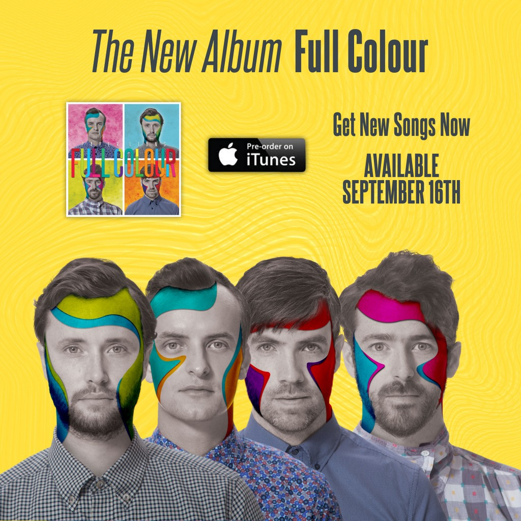 Paper Lions - iTunes Pre-Order Profile Photo - Square